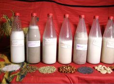 Tips to create Milk from Nuts and Seeds You can make your own milk from nuts and seeds. here you will find 20 tips for the preparation of 20 different kinds Smoothie Drinks, Smoothies, Cooking Tips, Cooking Recipes, Make Your Own, How To Make, Raw Vegan, Raw Food Recipes, Create Yourself