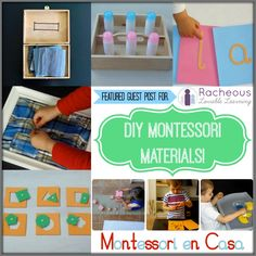 Today I'm joined by the lovely Cristina from Montessori en Casa. You may have read my 'Montessori Stories' interview over on Montessori en Casa in November. If you are familiar with Montessori, you most probably have noticed that the materials are quite expensive… This is because they usually are of great quality, as they are …