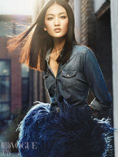 Teng Teng, Chinese Vogue | Envers du Decor