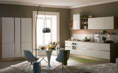 Abbinare i colori delle pareti - Colori neutri in cucina