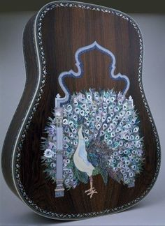 Martin Guitar Back by Larry Robinson, Robinson Custom Inlays, Valley Ford, CA violao.org