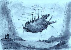 Movie sailing ships jules verne steampunk pirates verne albatross