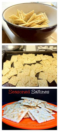 Seasoned Saltines ta