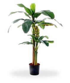 Perfect nachgemachte Bananen Baum 145 cm