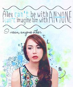 """""""Alex! You're in love with Alex!"""" - Emma's realization from Ep. 68 of Emma Approved"""