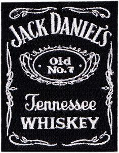 à Coudre Brodé Patchs Jack Daniel Motard Collection T-Shirt Jeans Sac Repasser
