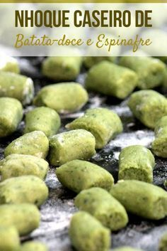 Sweet Potato Spinach Gnocchi - A Healthy, Easy-To-Make Recipe With . - Sweet Potato Spinach Gnocchi – A healthy recipe that is easy to make and simply delicious. Veggie Recipes, Vegetarian Recipes, Cooking Recipes, Healthy Recipes, I Love Food, Good Food, Food Porn, Comfort Food, Calories