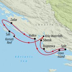 Dalmatian Discovery - 8 days | Croatia Sailing Holidays | Croatia Sailing Trips | Sail Croatia | Croatia | On The Go Tours