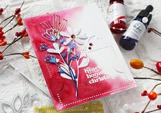 Have a Holly Jolly Christmas! – Pinkfresh Studio – rainbow in november December Challenge, Studio Cards, Pink Balloons, Colouring Techniques, Heart Cards, Make A Gift, The Balloon, Hello Everyone, I Card