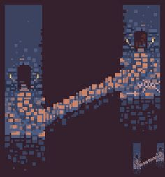 Dungeon walkway http://forums.tigsource.com/index.php?topic=167.28120