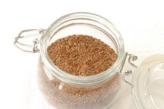 Flaxseed Egg Substitute for Baking♥  To replace one egg:  1 tablespoon ground flaxseeds  3 tablespoons water (or other liquid)  Stir together until thick and gelatinous.