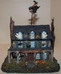 Hawthorne Village The Munsters Lily's Inn Halloween Village 2005   eBay