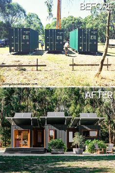 This staggering house in Victoria, Australia is an ideal case of that, with three 20 ft shipping containers being consolidated to make an astonishing, sun powered controlled home. #shippingcontainerhomes #shippingcontainercabin #containerhouse #containerhousedesign #containerbuildings #containercabin #luxuryhomes #containerhomes #housedesign #beforeandafterhome 20ft Shipping Container, Cargo Container Homes, Shipping Container Swimming Pool, Shipping Container House Plans, Building A Container Home, Container Buildings, Container Architecture, Container House Design, Shipping Containers