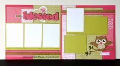 Scrap with Sue: March Club Kit - IVY LANE Layouts