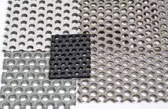 Perforated Metal stair treads