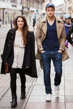 street:style:seconds, stylish couples