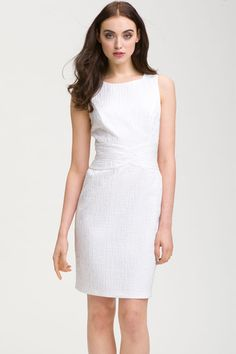 Donna Ricco Jacquard Sheath Dress, $125, available at Nordstrom.