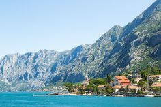 Sailing with a yacht in one of the most beautiful cruising grounds in the world - fjordish Bay of Kotor
