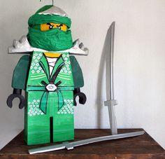 Piñata Ninjago Verde