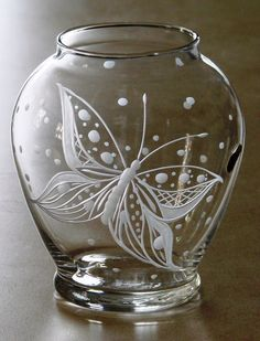 Simplicity * Butterfly * Catherine Miller Designs * Hand Engraved