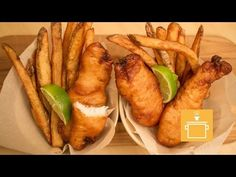 Silently Cooking - Fish and Chips - YouTube