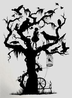 fairy tale tree!!!