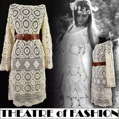 THEATRE of FASHION - http://www.theatreoffashion.com/style-history/vintage-crochet http://www.theatreoffashion.com/vintage-fashion-blog/latest