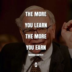 Take that from a billionaire who spends of his time reading books! Wisdom Quotes, Quotes To Live By, Life Quotes, Work Quotes, Business Motivation, Business Quotes, Quotes Motivation, Warren Buffet Quotes, Trading Quotes