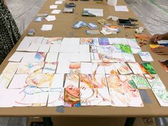 Collaborative art projects that are easy to do with lots of people!