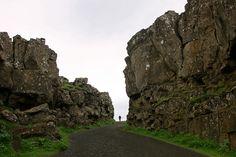Þingvellir National Park | Where the Eurasian and North American tectonic plates meet / in southwestern Iceland,