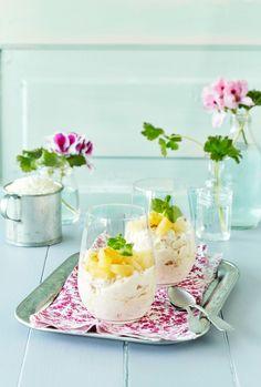 Kookos-ananasrahka | K-ruoka #pääsiäinen