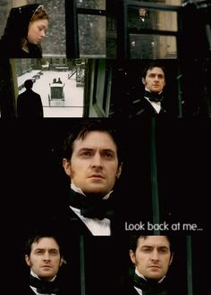 "Richard Armitage in North and South. ""Look back at me"". <3"