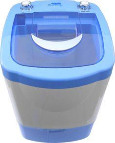 Amazon.com: The Laundry Alternative Miniwash Portable, Compact Mini Washing Machine (Blue): Appliances