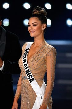 Demi-Leigh Nel-Peters Photos Photos: The 2017 Miss Universe Pageant Pageant Girls, Pageant Dresses, Miss Universe Dresses, Pageant Questions, Demi Leigh Nel Peters, Braces Girls, School Dance Dresses, Planet Hollywood, Miss Usa