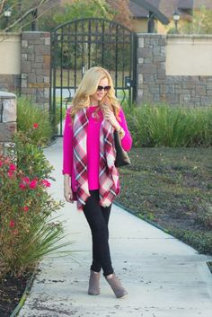 Hot Pink and Black Denim Haute & Humid - Effortless Fashion, Every day
