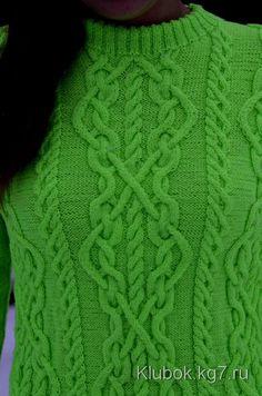 Пуловер с кельтским узором. Автор Екатерина Александрова | Клубок