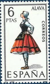 Basque traditional dress