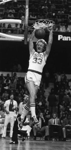 Larry Bird Dunking #BostonCeltics