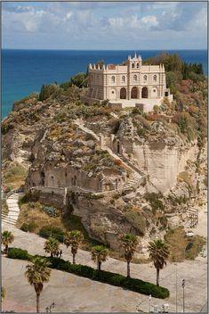 Santuario Di S. Maria Dell' Isola, Tropea, Calabria, Italy