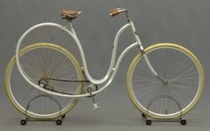 the 1898 Cygnet 'Swan' ladies' bicycle built by the Stoddard Mfg Co of Dayton, OH