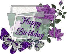 Best Happy Birthday Message, Purple Happy Birthday, Happy Birthday Flowers Wishes, Happy Birthday Video, Today Is My Birthday, Happy Birthday Pictures, Happy Birthday Quotes, Happy Birthday Greetings, Birthday Cards