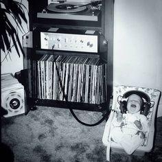 Start em young #vinyl