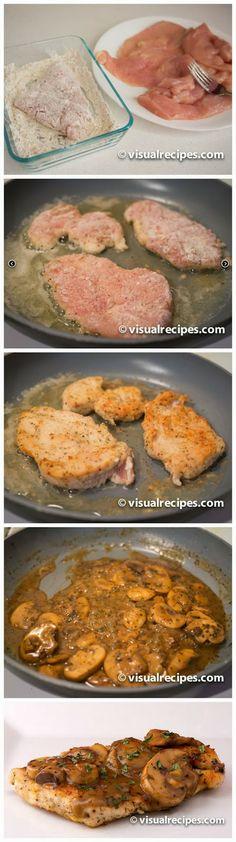 Red Star Recipe: Chicken Marsala