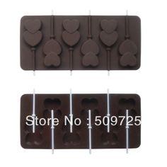 New Silicone Chocolate Cookie molde do doce de geléia de decoração do bolo Colher Forma em Forma de bolo de Casa & jardim no AliExpress.com
