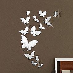 1 rouleau adhésif Maquillage Miroir Autocollant Chambre Salle De Bain Applique Murale Home Decor