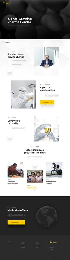 Dribbble - alvogen-home-full.png by Marco Coppeto Ecommerce Web Design, Web Ui Design, Web Design Services, Page Design, Layout Design, Elegant Logo Design, Modern Web Design, Mobile Web Design, Professional Web Design