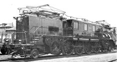 Pennsylvania Railroad Electric locomotive L-5 (1-B-B-1).Built 1924-1928 in PRR Altoona shops in assoc. with G.E. & Westinghouse.