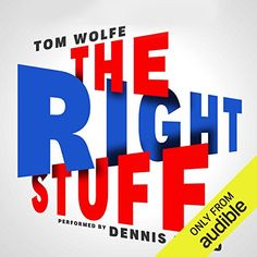 """The Right Stuff by Tom Wolfe """"Within five minutes, or ten minutes, no more than that, three of the others had called her on the telephone to ask if she had heard that something had happened out there. The Caine Mutiny, Tim Peake, Tom Wolfe, History Taking, Best Audiobooks, T Line, Best Supporting Actor, The Right Stuff, Tom Hanks"""