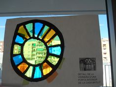 Escola Sant Just vidriera Gaudí P5 2014-15