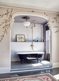 beautifully ornate bathing alcove / sfgirlbybay
